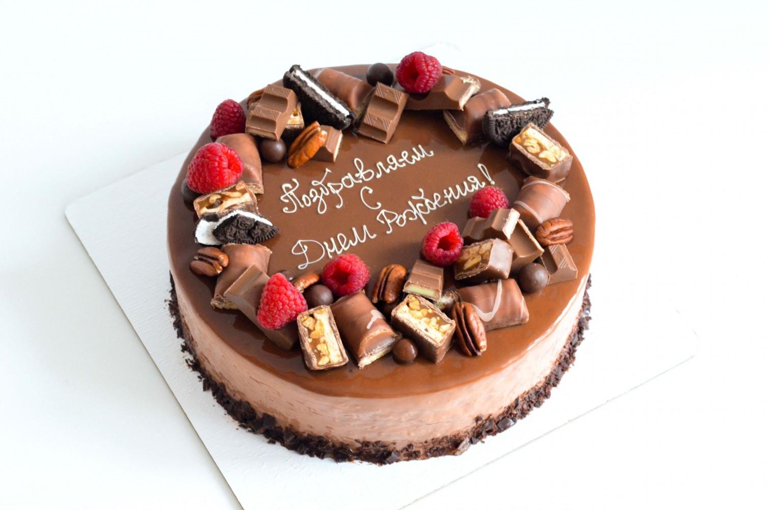 Муссовый торт Шокоголик